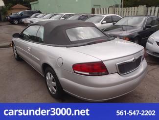 2001 Chrysler Sebring LX Lake Worth , Florida 2