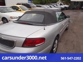 2001 Chrysler Sebring LX Lake Worth , Florida 3