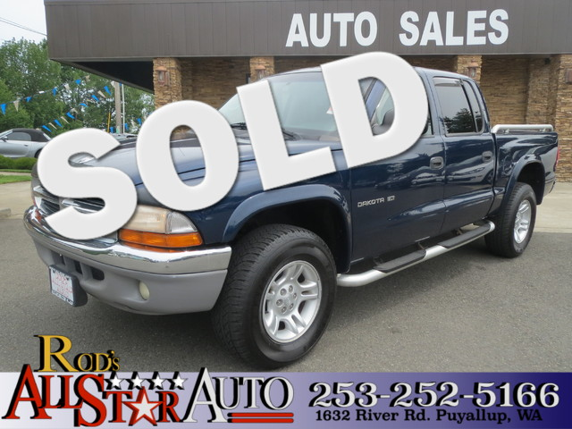 2001 Dodge Dakota Sport Quad Cab The CARFAX Buy Back Guarantee that comes with this vehicle means