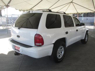 2001 Dodge Durango Gardena, California 2