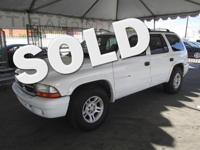 2001 Dodge Durango This particular Vehicle comes with 3rd Row Seat Please call or e-mail to check