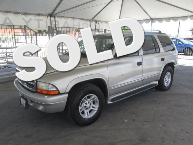 2001 Dodge Durango Please call or e-mail to check availability All of our vehicles are availabl