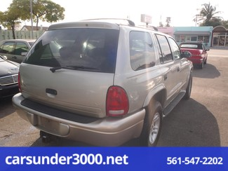 2001 Dodge Durango Lake Worth , Florida 2