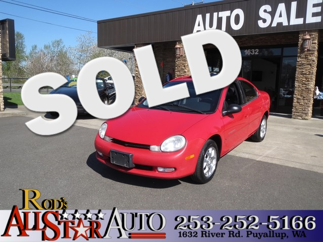 2001 Dodge Neon Highline ES The CARFAX Buy Back Guarantee that comes with this vehicle means that