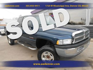 2001 Dodge Ram 2500 Quad Cab 4x4 Cummins One Owner | Denver, CO | A&A Automotive of Denver in Denver, Littleton, Englewood, Aurora, Lakewood, Morrison, Brighton, Fort Lupton, Longmont, Montbello, Commerece City CO