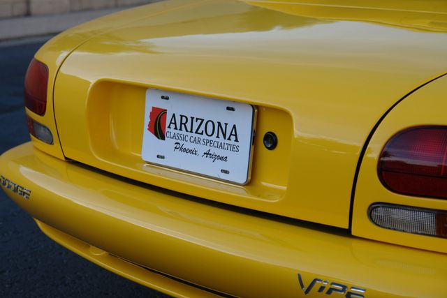 2001 Dodge Viper RT/10 Phoenix, AZ 3