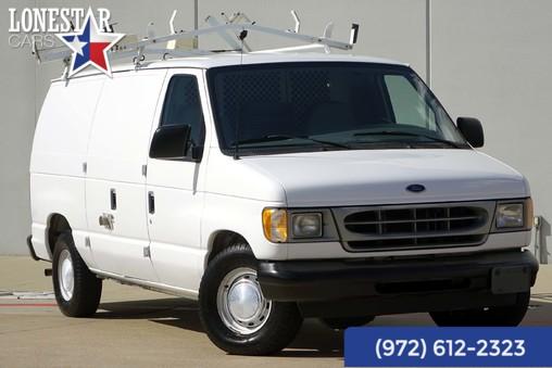 2001 Ford E150 Cargo Van