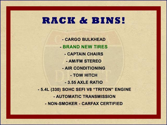 2001 Ford Econoline Cargo Van E350 RWD - RACKS & BINS - NEW TIRES! Mooresville , NC 1