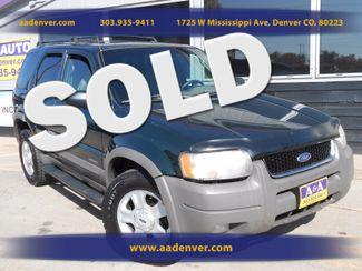 2001 Ford Escape XLT 4x4 | Denver, CO | A&A Automotive of Denver in Denver, Littleton, Englewood, Aurora, Lakewood, Morrison, Brighton, Fort Lupton, Longmont, Montbello, Commerece City CO