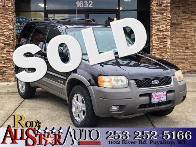 2001 Ford Escape XLT 4WD The CARFAX Buy Back Guarantee that comes with this vehicle means that you