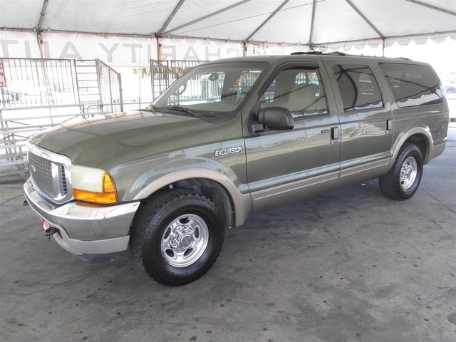 2001 Ford Excursion Limited This particular Vehicle comes with 3rd Row Seat Please call or e-mail