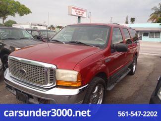 2001 Ford Excursion XLT Lake Worth , Florida 1