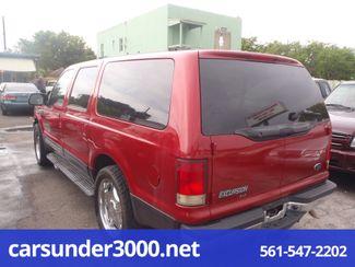 2001 Ford Excursion XLT Lake Worth , Florida 2