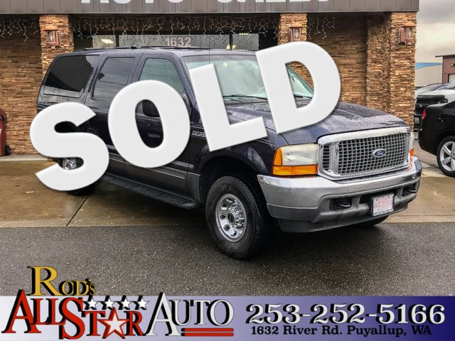 2001 Ford Excursion XLT 4WD The CARFAX Buy Back Guarantee that comes with this vehicle means that