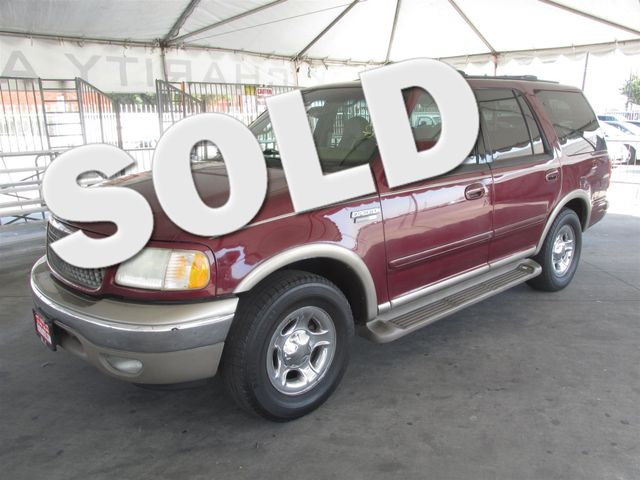 2001 Ford Expedition Eddie Bauer This particular Vehicle comes with 3rd Row Seat Please call or e