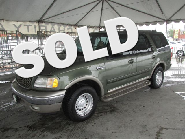 2001 Ford Expedition Eddie Bauer This particular Vehicles true mileage is unknown TMU Please c