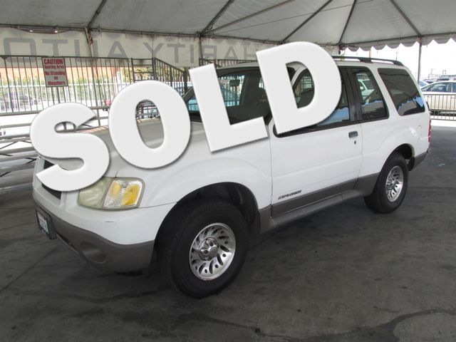 2001 Ford Explorer Sport This particular Vehicles true mileage is unknown TMU Please call or e