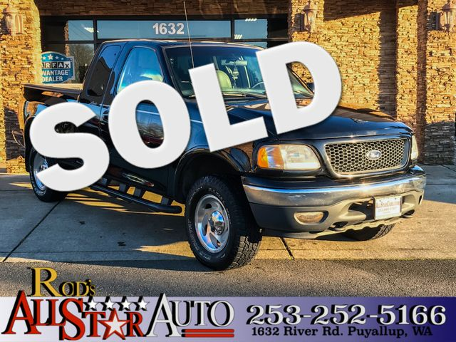 2001 Ford F-150 Lariat 4WD The CARFAX Buy Back Guarantee that comes with this vehicle means that y