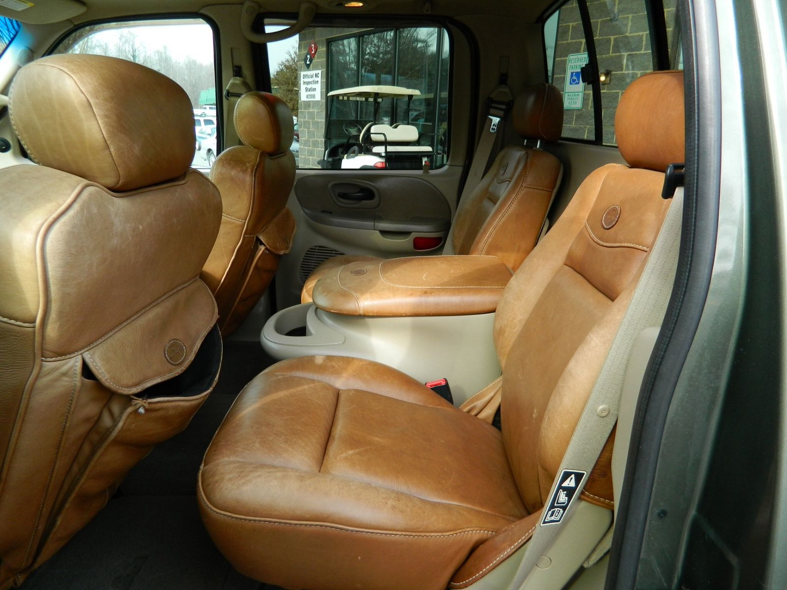 Ford F150 King Ranch Interior F