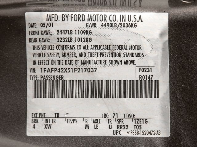 2001 Ford Mustang GT Premium Burbank, CA 25