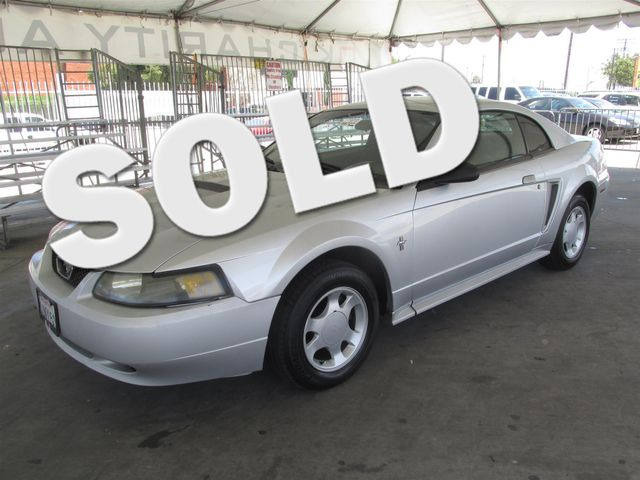 2001 Ford Mustang Standard Please call or e-mail to check availability All of our vehicles are