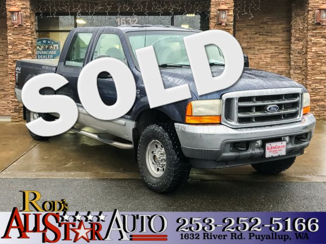 2001 Ford Super Duty F-250 XL 4WD The CARFAX Buy Back Guarantee that comes with this vehicle means