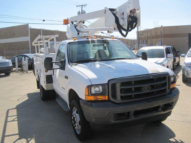 2001 Ford Super Duty F-450 XL, High Lift Bucket Truck 7.3 Diesel, Works Perfect Plano, Texas 1