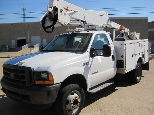 2001 Ford Super Duty F-450 XL, High Lift Bucket Truck 7.3 Diesel, Works Perfect Plano, Texas 4