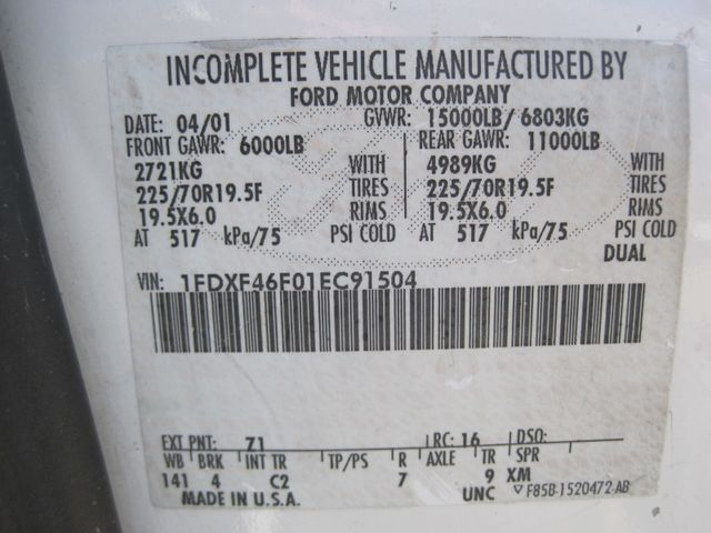 2001 Ford Super Duty F-450 XL, High Lift Bucket Truck 7.3 Diesel, Works Perfect Plano, Texas 31