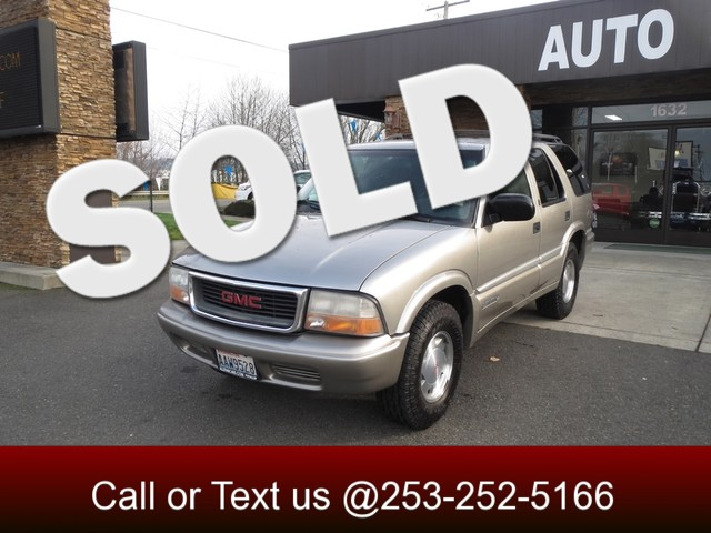 2001 GMC Jimmy SLE The CARFAX Buy Back Guarantee that comes with this vehicle means that you can b