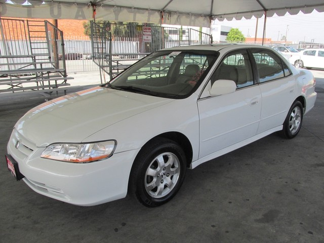 2001 Honda Accord EX wLeather This particular Vehicles true mileage is unknown TMU Please call