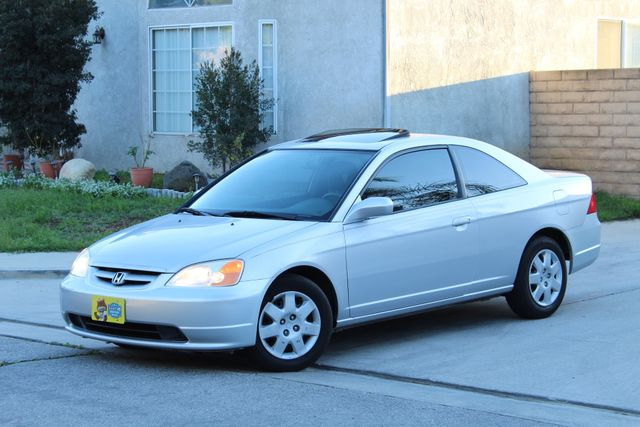 2001 Honda CIVIC EX COUPE 82K MLS AUTO SUNROOF SERVICE RECORDS NEW BRAKES Woodland Hills, CA 25
