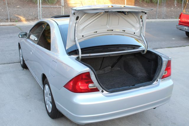2001 Honda CIVIC EX COUPE 82K MLS AUTO SUNROOF SERVICE RECORDS NEW BRAKES Woodland Hills, CA 9