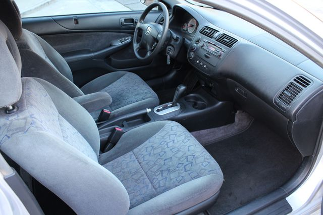 2001 Honda CIVIC EX COUPE 82K MLS AUTO SUNROOF SERVICE RECORDS NEW BRAKES Woodland Hills, CA 19