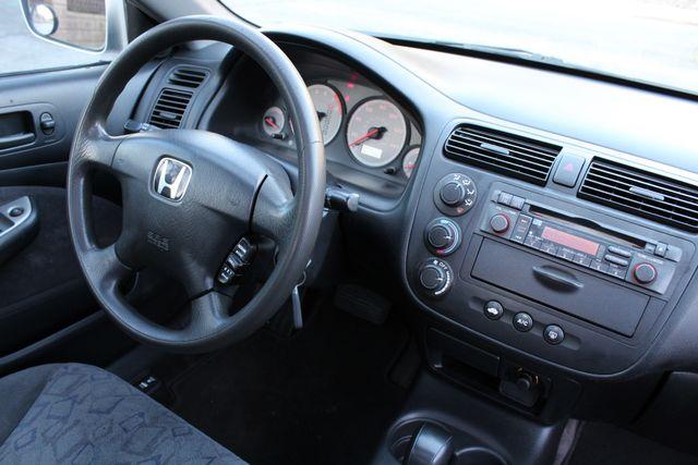 2001 Honda CIVIC EX COUPE 82K MLS AUTO SUNROOF SERVICE RECORDS NEW BRAKES Woodland Hills, CA 17