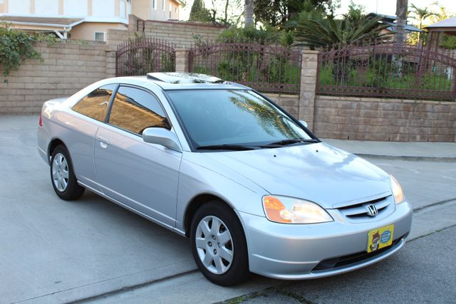 2001 Honda CIVIC EX COUPE 82K MLS AUTO SUNROOF SERVICE RECORDS NEW BRAKES Woodland Hills, CA 22