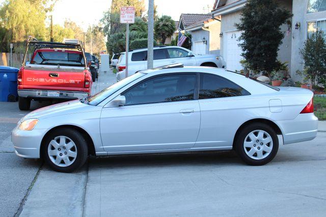 2001 Honda CIVIC EX COUPE 82K MLS AUTO SUNROOF SERVICE RECORDS NEW BRAKES Woodland Hills, CA 2