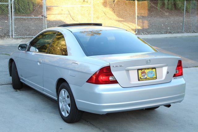 2001 Honda CIVIC EX COUPE 82K MLS AUTO SUNROOF SERVICE RECORDS NEW BRAKES Woodland Hills, CA 3