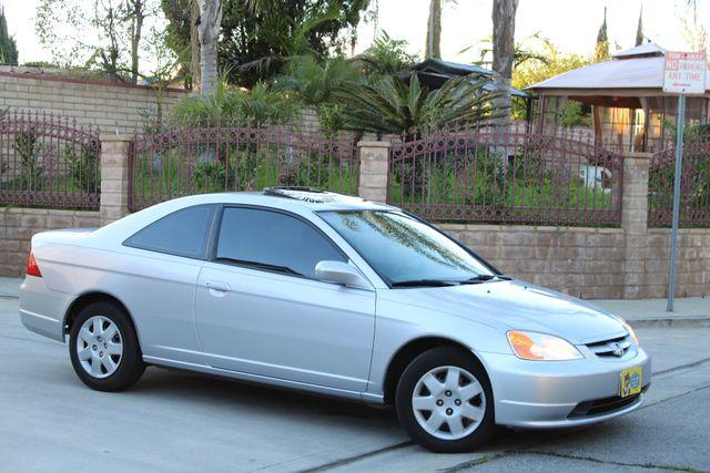 2001 Honda CIVIC EX COUPE 82K MLS AUTO SUNROOF SERVICE RECORDS NEW BRAKES Woodland Hills, CA 7