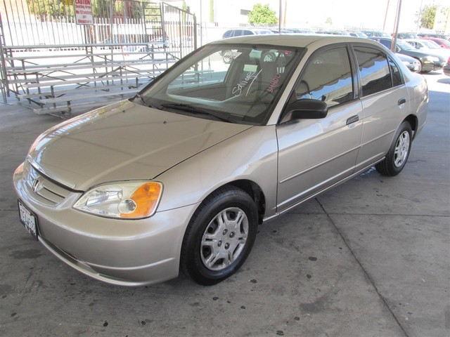 2001 Honda Civic LX This particular vehicle has a SALVAGE title Please call or email to check ava