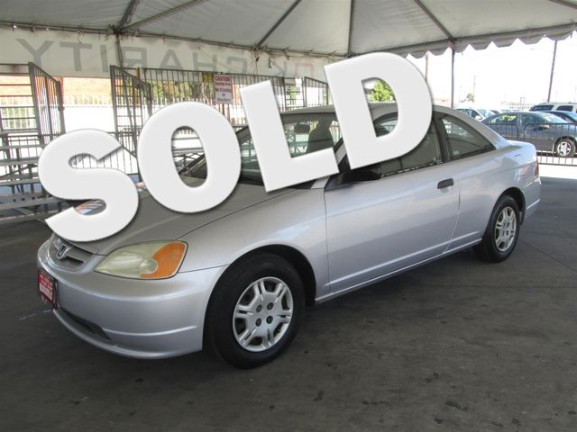 2001 Honda Civic DX Please call or e-mail to check availability All of our vehicles are availab