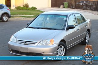 2001 Honda CIVIC LX 4 DOORS SEDAN AUTOMATIC NEW TIRES XLNT COND. SERVICE RECORDS! Woodland Hills, CA