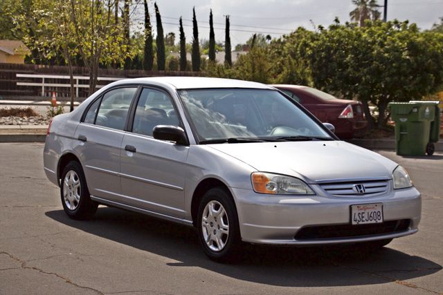 2001 Honda CIVIC LX 4 DOORS SEDAN MANUAL 1-OWNER SERVICE RECORDS AVAILABLE Woodland Hills, CA 7