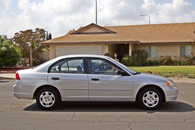 2001 Honda CIVIC LX 4 DOORS SEDAN MANUAL 1-OWNER SERVICE RECORDS AVAILABLE Woodland Hills, CA 6