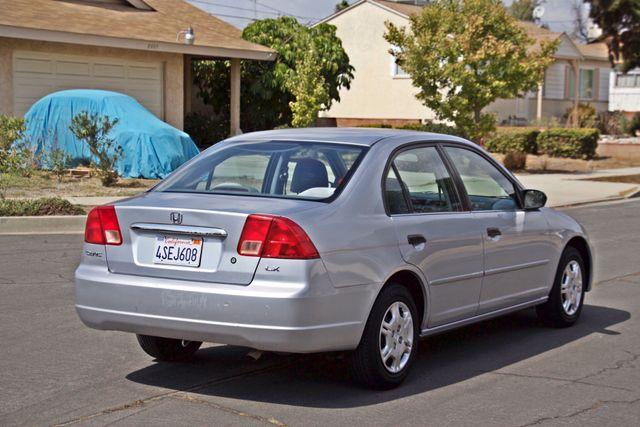 2001 Honda CIVIC LX 4 DOORS SEDAN MANUAL 1-OWNER SERVICE RECORDS AVAILABLE Woodland Hills, CA 5