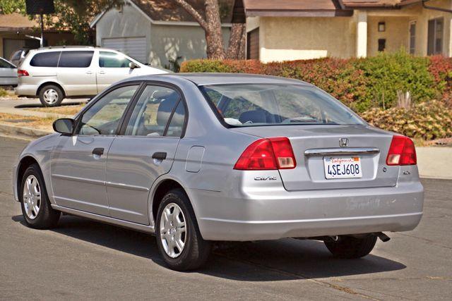 2001 Honda CIVIC LX 4 DOORS SEDAN MANUAL 1-OWNER SERVICE RECORDS AVAILABLE Woodland Hills, CA 3