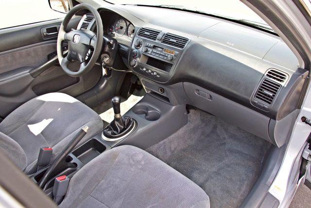 2001 Honda CIVIC LX 4 DOORS SEDAN MANUAL 1-OWNER SERVICE RECORDS AVAILABLE Woodland Hills, CA 19