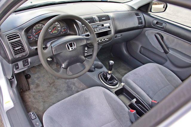 2001 Honda CIVIC LX 4 DOORS SEDAN MANUAL 1-OWNER SERVICE RECORDS AVAILABLE Woodland Hills, CA 10