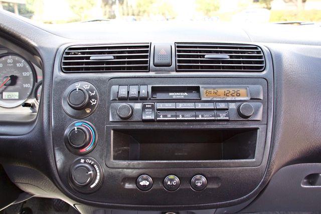 2001 Honda CIVIC LX 4 DOORS SEDAN MANUAL 1-OWNER SERVICE RECORDS AVAILABLE Woodland Hills, CA 13