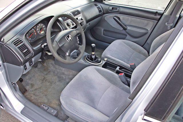 2001 Honda CIVIC LX 4 DOORS SEDAN MANUAL 1-OWNER SERVICE RECORDS AVAILABLE Woodland Hills, CA 11